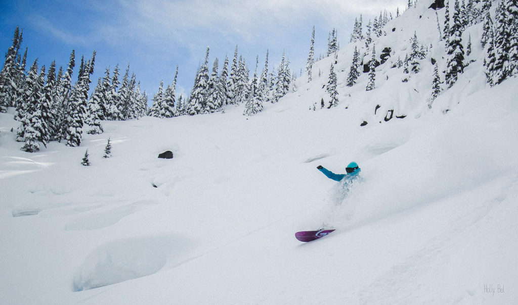 Pillows and pow, two of my favorite things. Photo Credit: @Holly_Bel_Photography