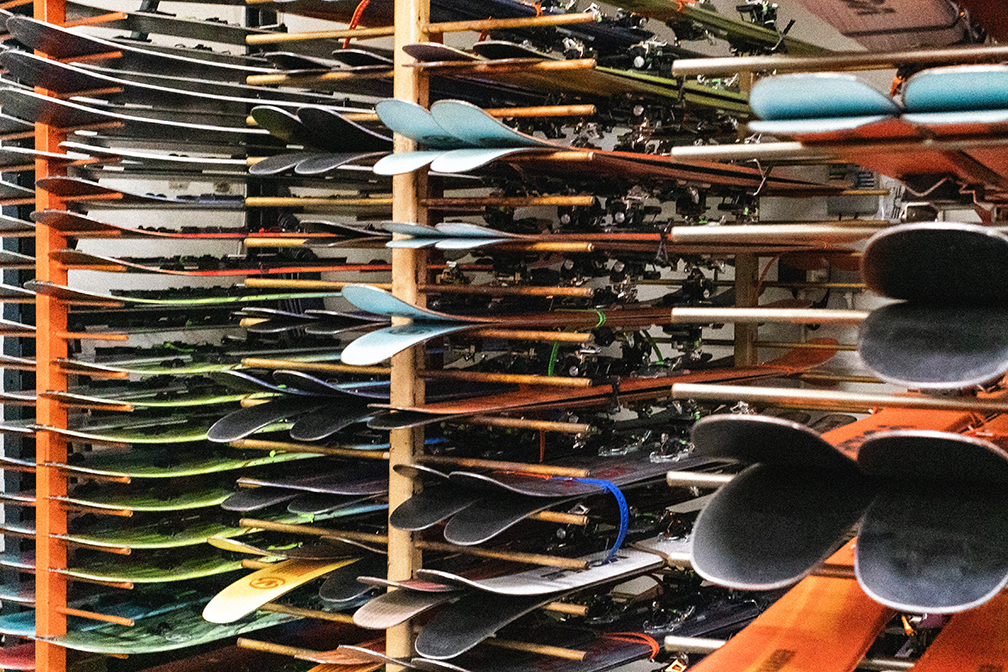 skis made in utah demos