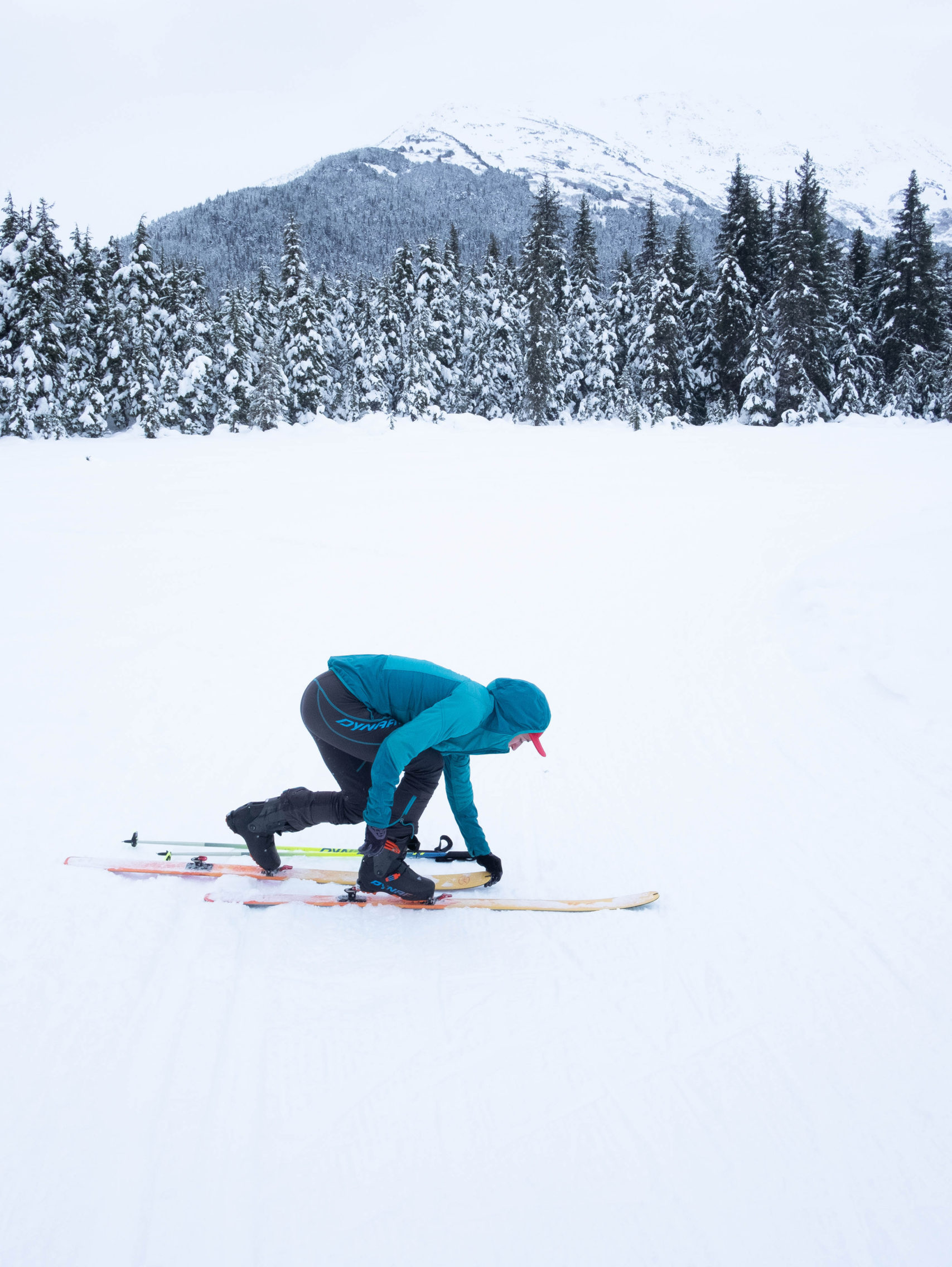 Beginner's Guide to SkiMo Racing WSP transition practice, CREDIT emily sullivan