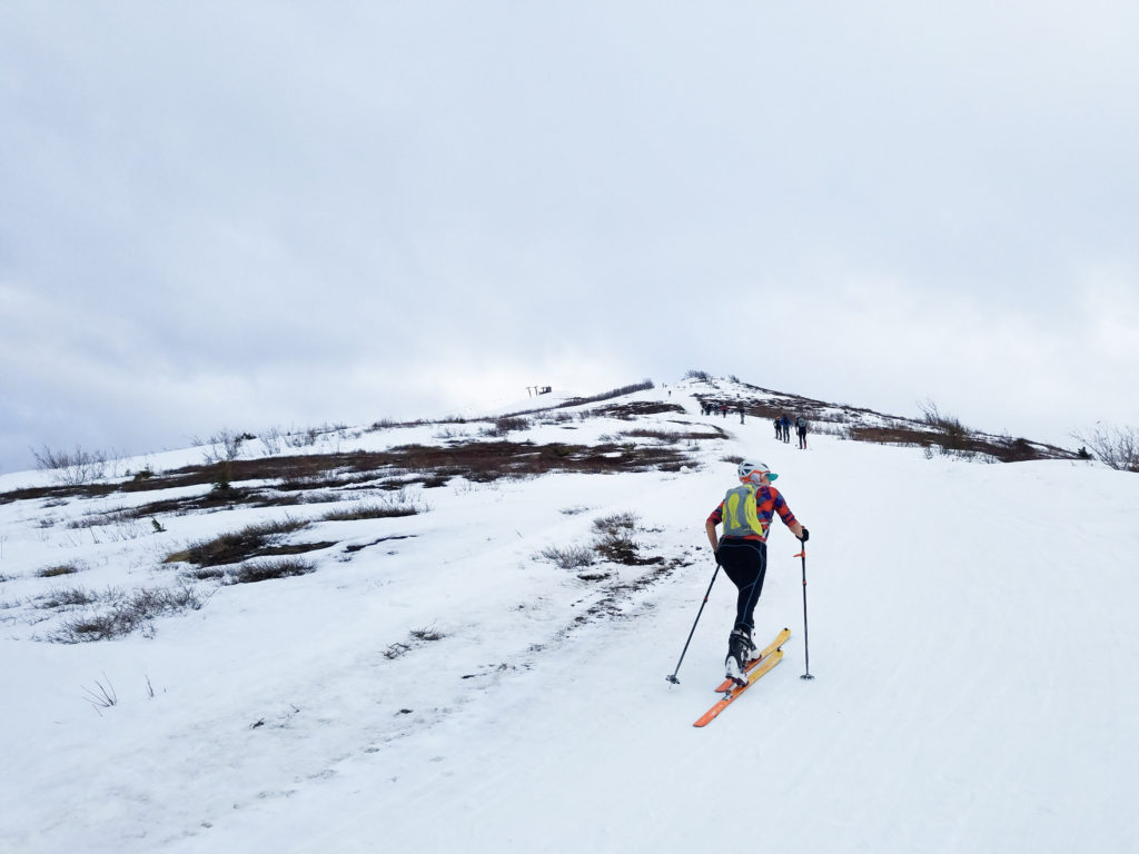Beginner's Guide to SkiMo Racing emily racing with WSPs