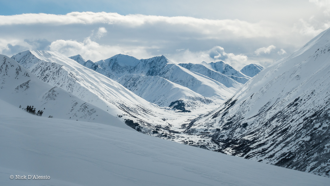 That realization there are too many ski lines to get to in a lifetime - guiding in Alaska.