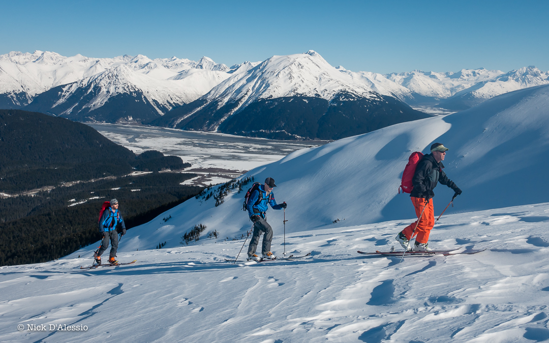 """Views of Turnagain arm – on my """"best but worst"""" day of the year guiding in Alaska."""