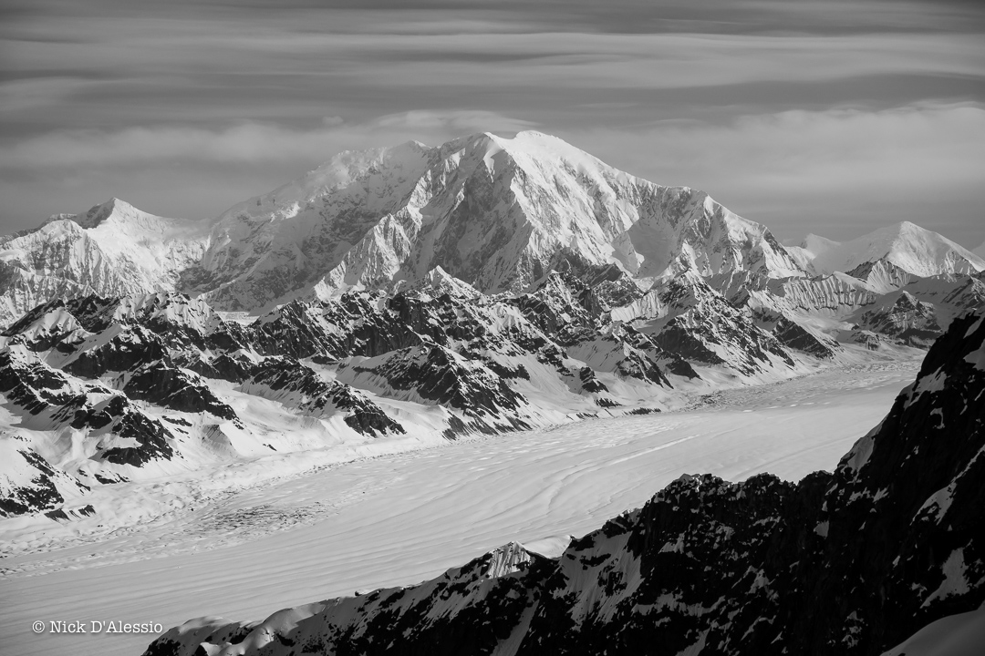 Mt. Foraker - guiding in Alaska.