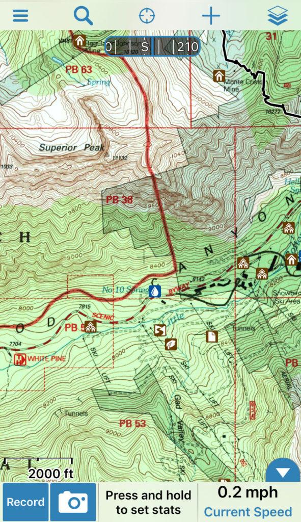 Backcountry Digital Terrain Tools