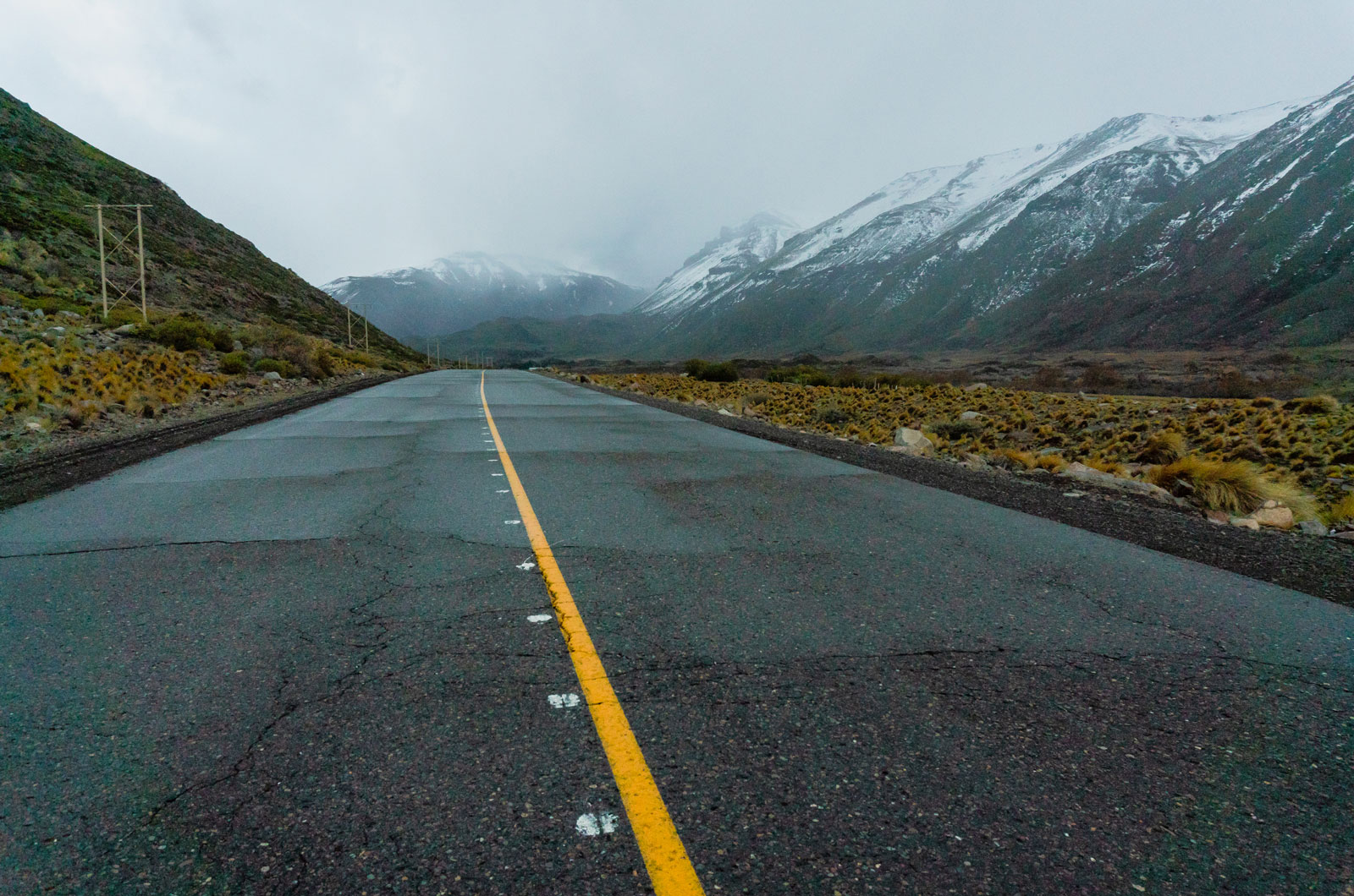 Driving into the storm. Photo Courtesy: Ben Girardi - Adventure in Argentina