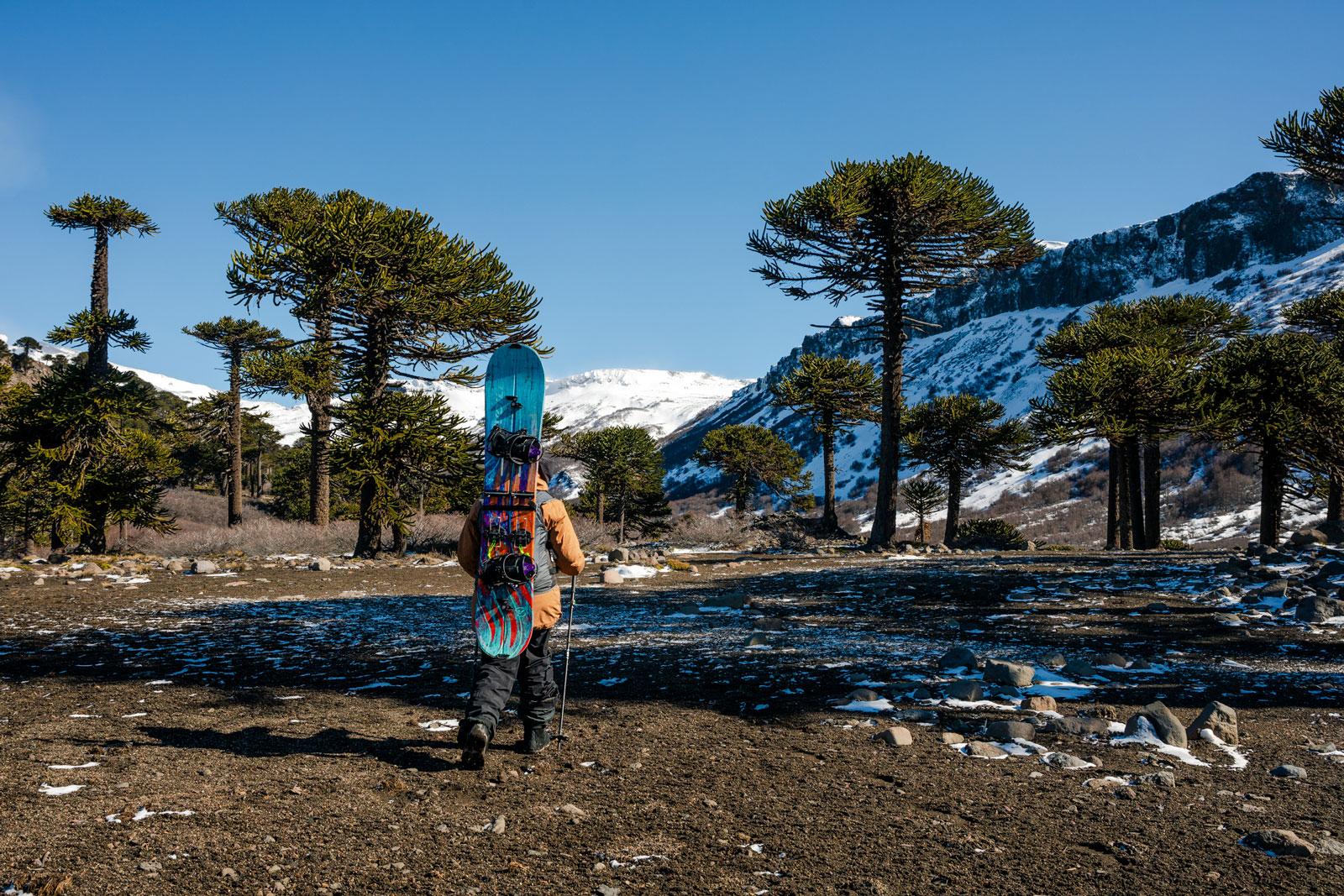 Earn your turns. Photo Courtesy: Ben Girardi - Adventure in Argentina