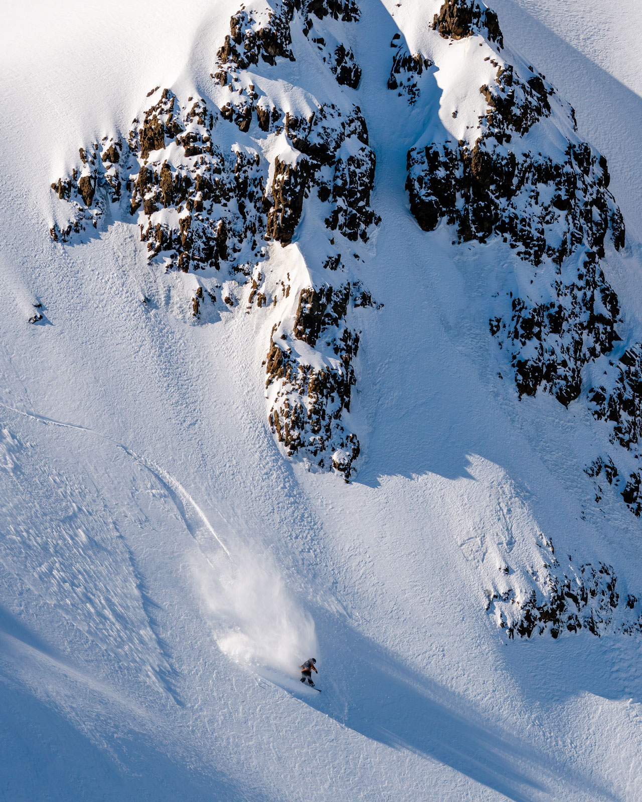 Chile or Argentina? Whatever the country the snow was good. Photo Courtesy: Ben Girardi - Adventure in Argentina
