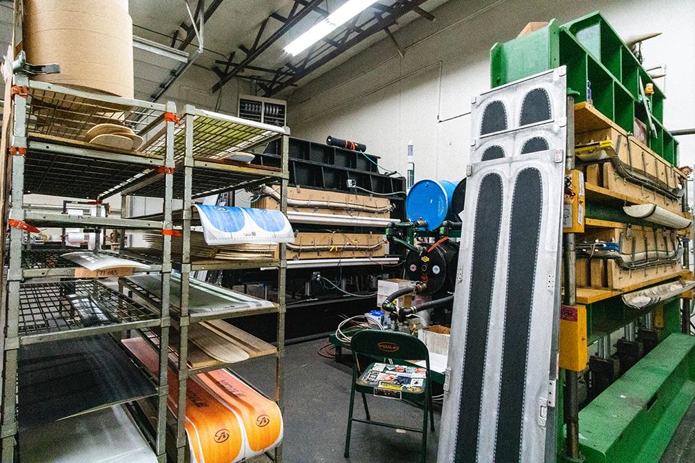 skis made in utah materials