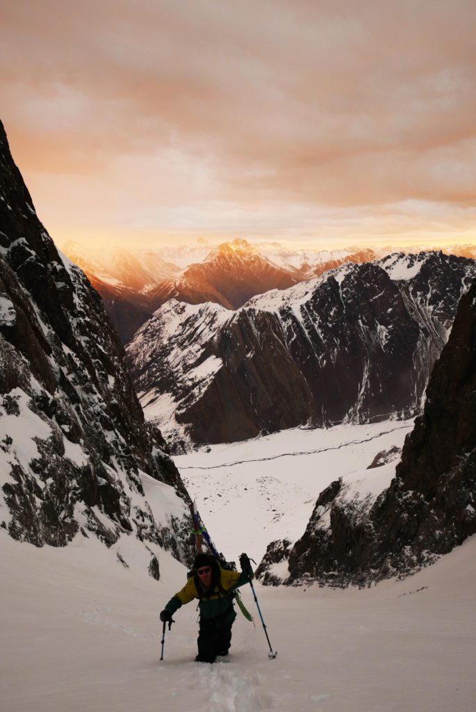 Kordell Black - backcountry skiing photography
