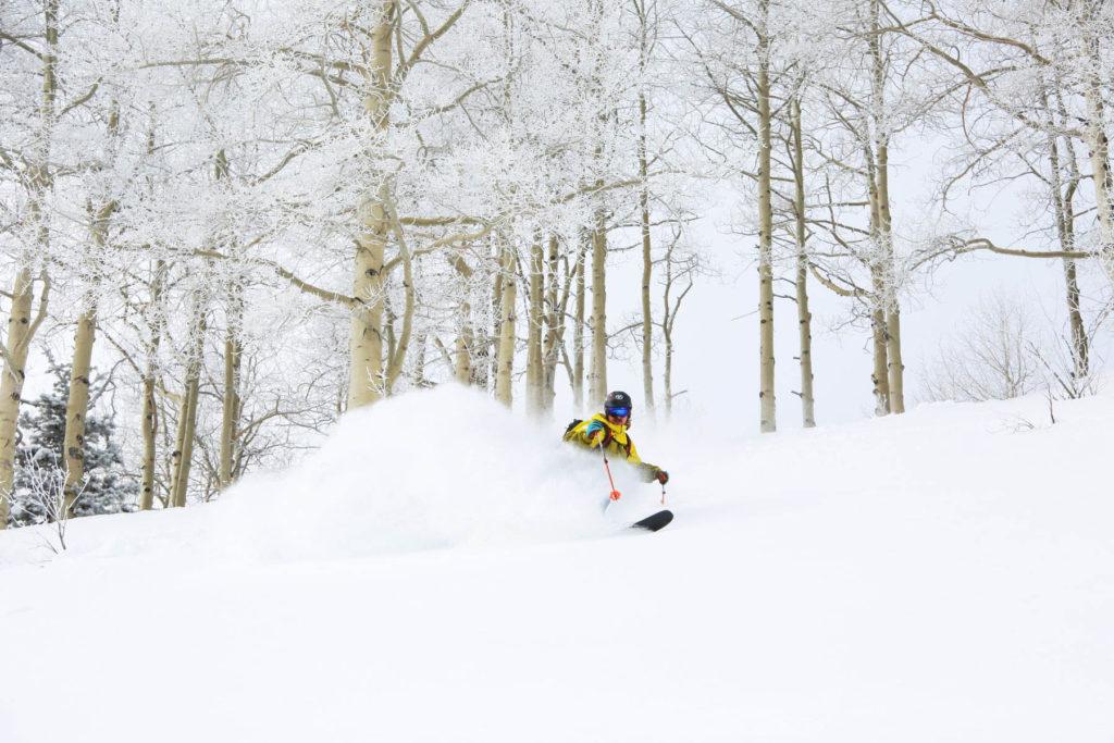 Weston Deutschlander - backcountry skiing photography