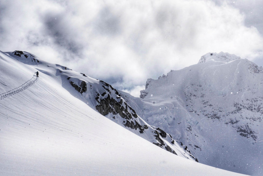 Aaron Diamond - backcountry skiing photography