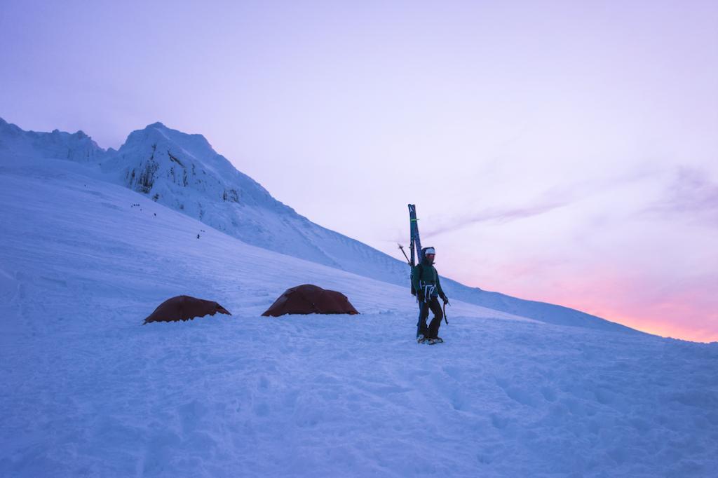 Brooke Jackson - backcountry skiing photography
