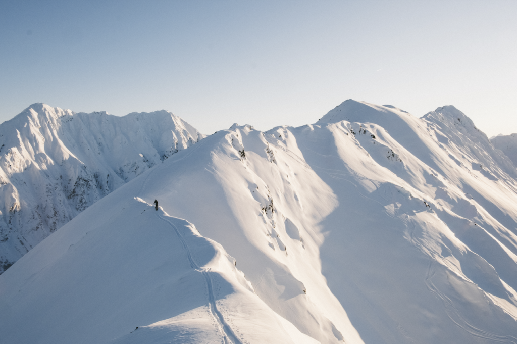 Emily Sullivan - backcountry skiing photography