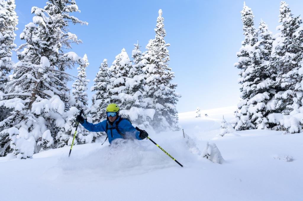 Mark LeBlanc- backcountry skiing photography