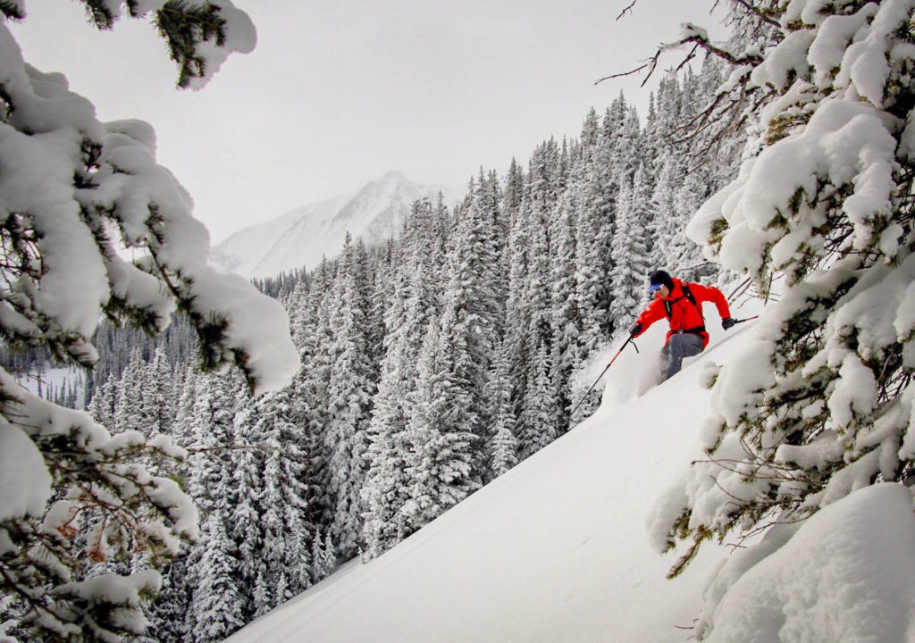 Nate Rowland - backcountry skiing photography