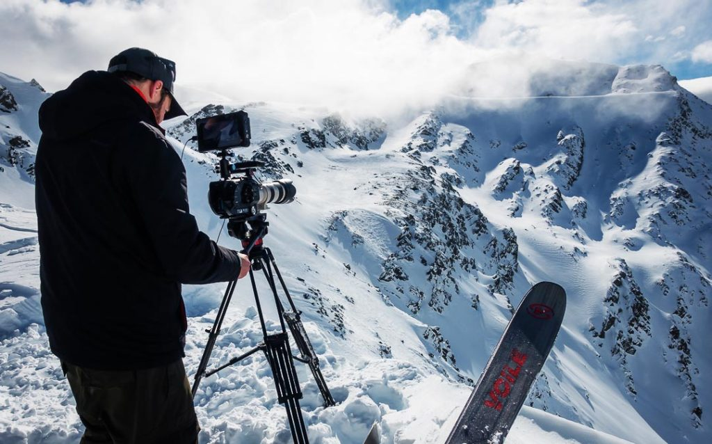 Nick D'Alessio - backcountry skiing photography