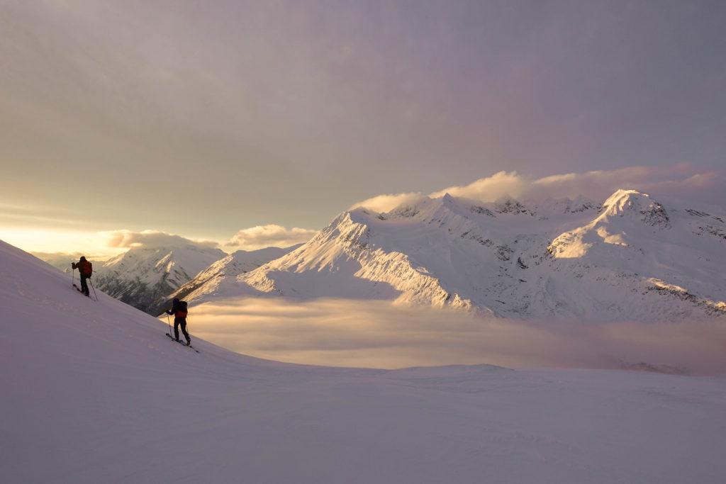 Emily Sullivan- backcountry skiing photography