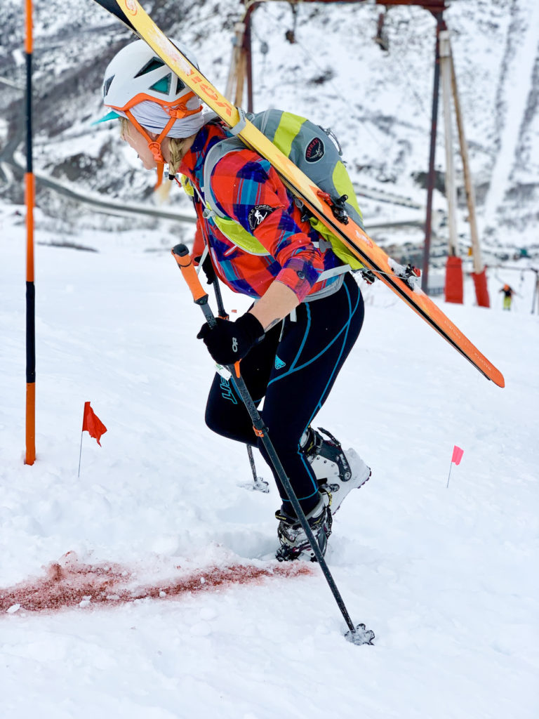 Beginner's Guide to SkiMo Racing emily racing with WSPs (1)
