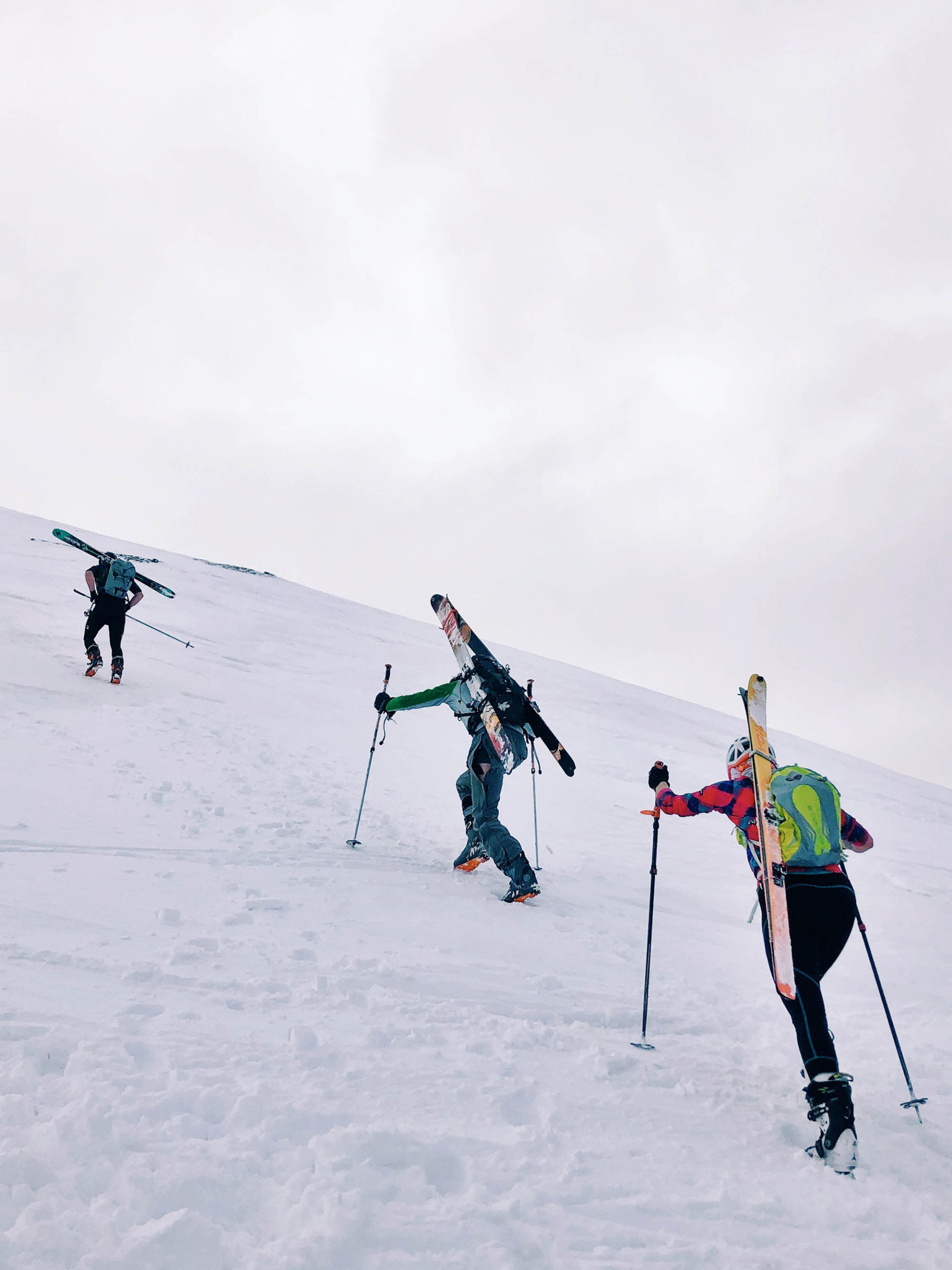 Beginner's Guide to SkiMo Racing emily racing with WSPs (2)