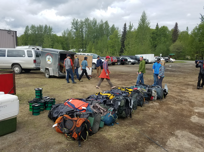 Well packed Denali trip- ski-expedition