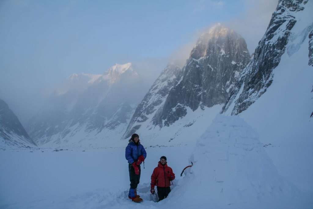 Adam fisher and Ty in revelations firrst expedition 2013-ski-expedition