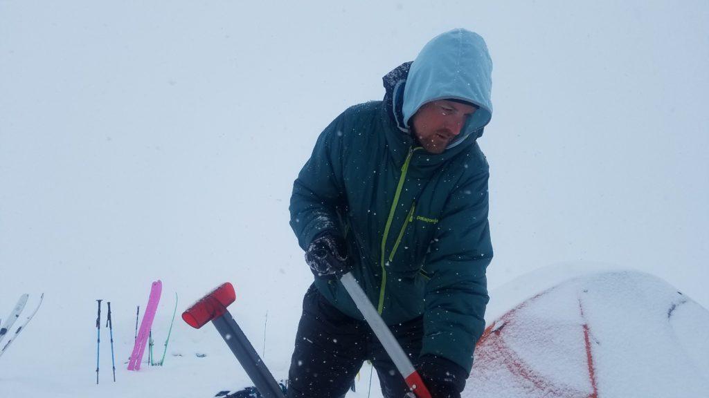 Camp Chores-ski-expedition