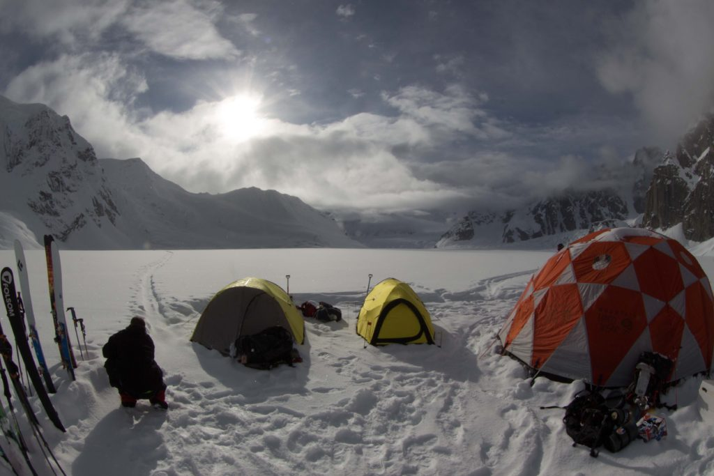 Clean camp Photo Jordan White-ski-expedition