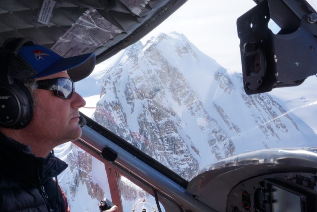 Paul Roderick legendary AK pilot-ski-expedition