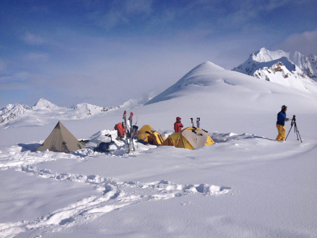 St Elias 2014 base camp-ski-expedition