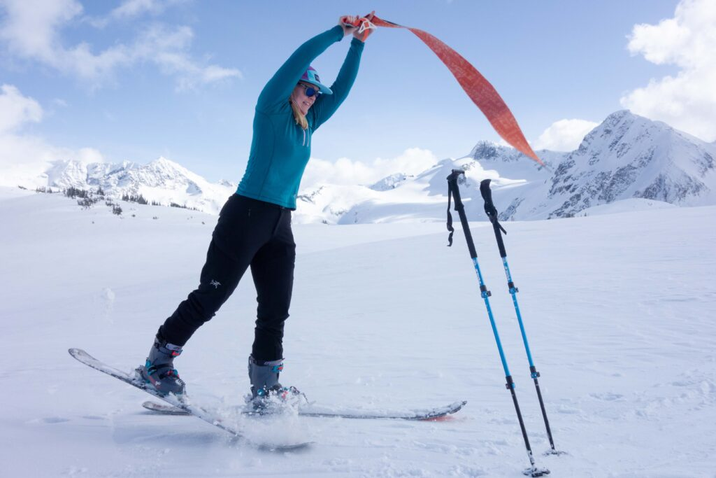 Avalanche Advice for Backcountry Beginners transition in safe zones.