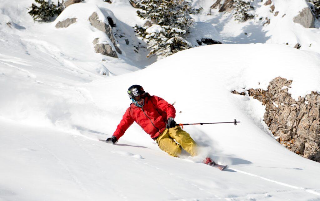 Telemark Ski Mountaineer Montana_Bridger