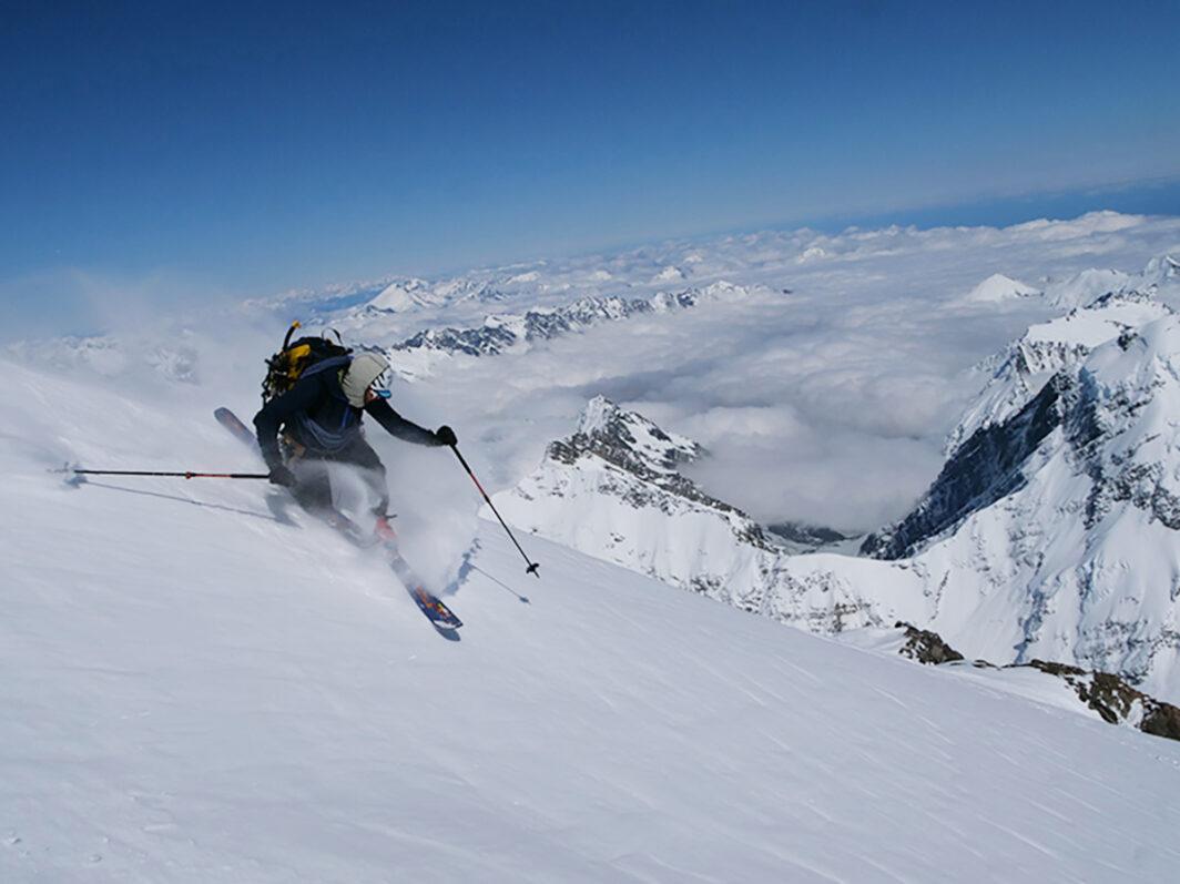 Telemark Ski Mountaineer by Beau Fredlund header