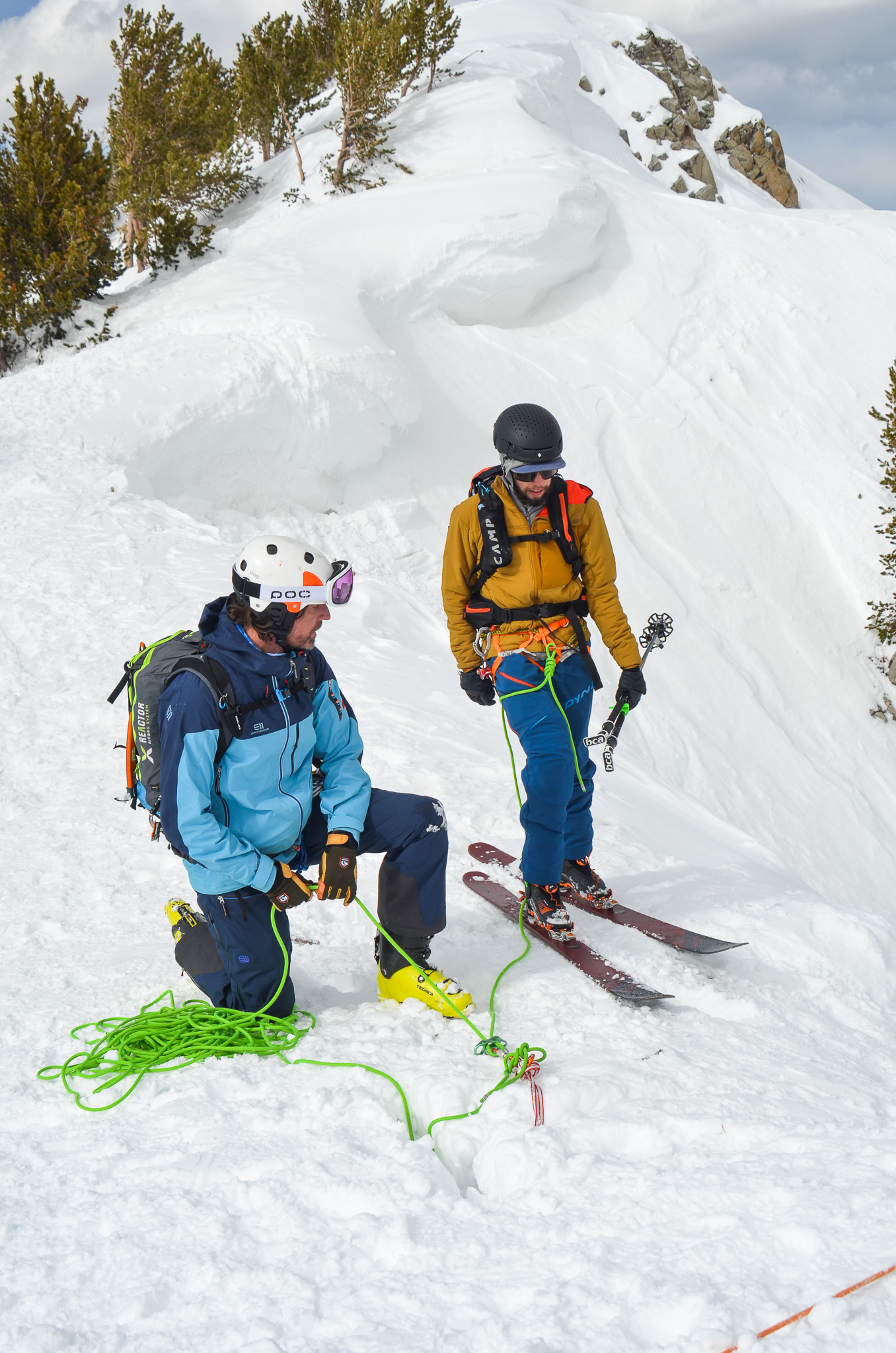ski mountaineering t-trench