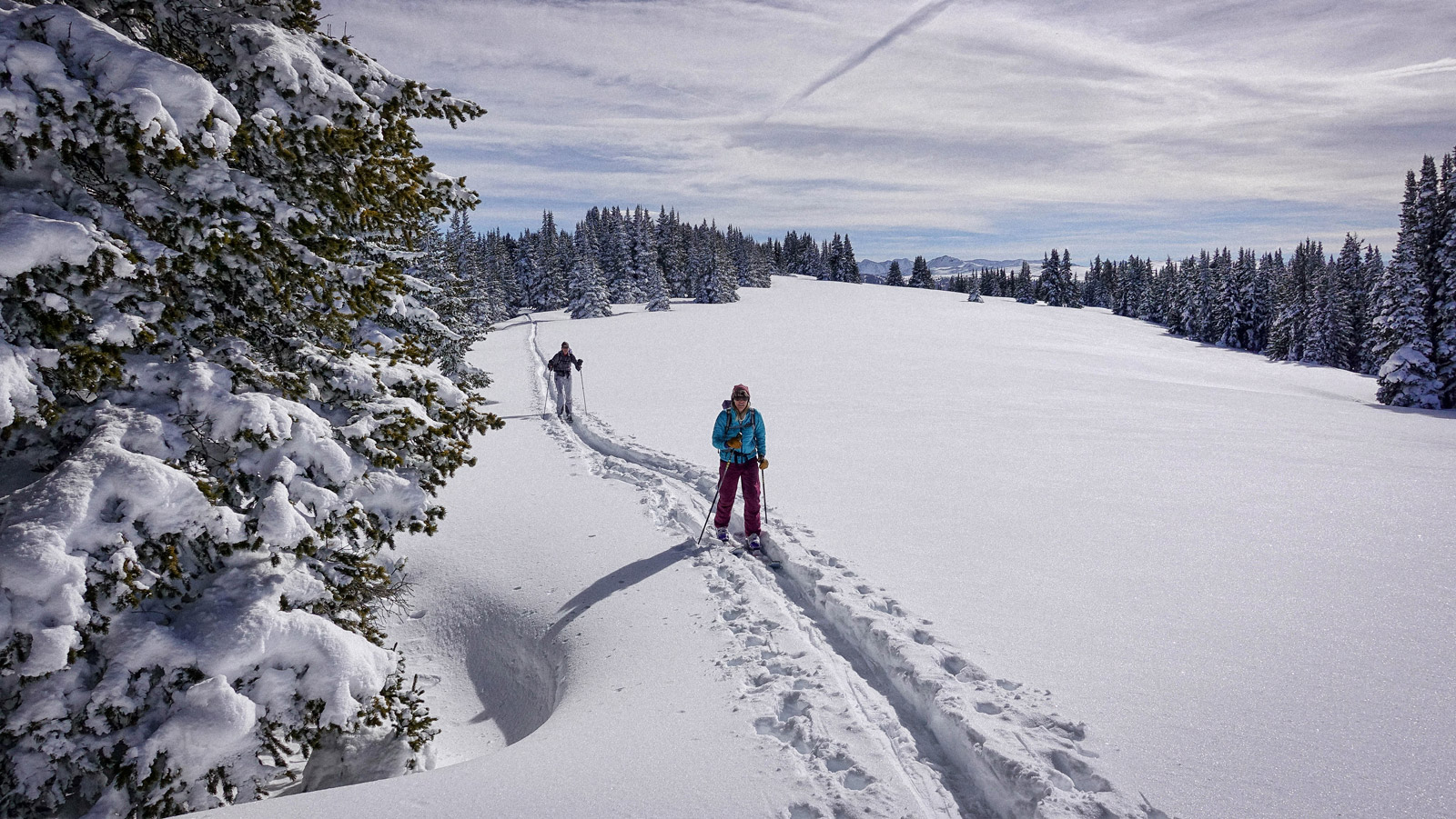 Deep snow, and the best backcountry skis