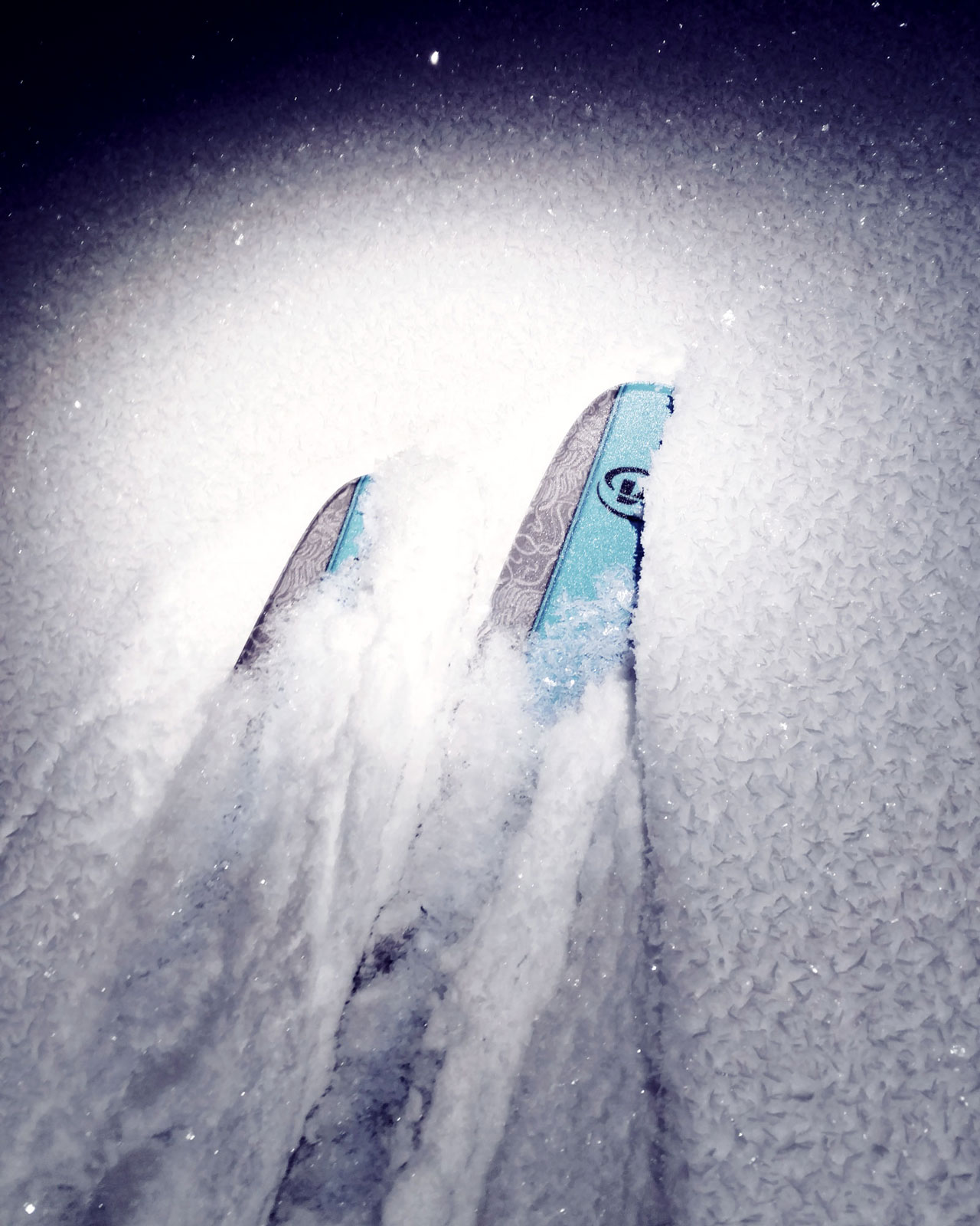Voile X9 Skis.