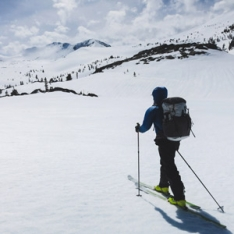 Ultralight Winter Traverse of the Tahoe Rim Trail