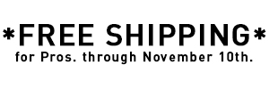 Voile Pro Free Shipping through Nov. 10*