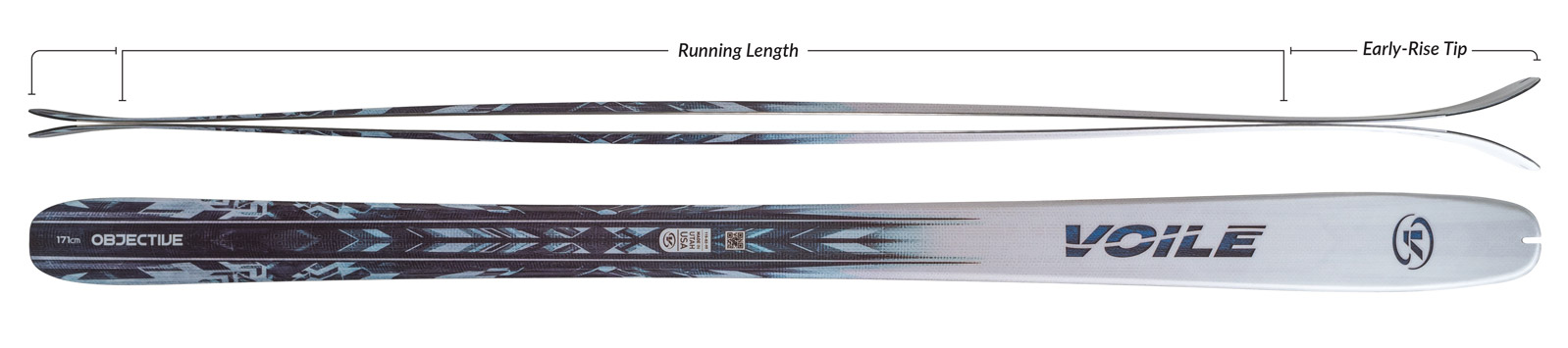 Voile Objective Skis Camber Profile