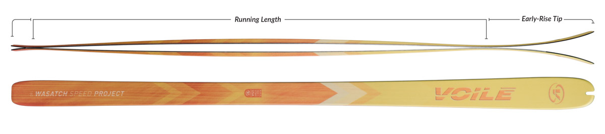 Voile WSP Skis Camber Profile